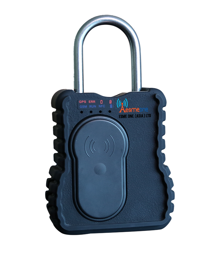 Smart and Intelligent GPS Lock, GPS lock, GPRS & 3G wireless lock with RFID, NFC